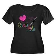Ckc Logo Plus Size T-Shirt (dark)