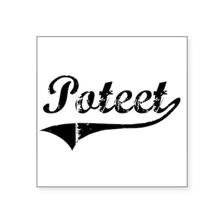 Poteet Sticker
