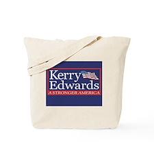 JOHN KERRY - JOHN EDWARDS Tote Bag