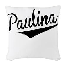 Paulina, Retro, Woven Throw Pillow