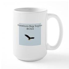 Harrison Bay Eagles Eloise in flight Mugs