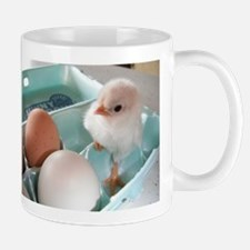 Two Eggs and a Chick Mugs