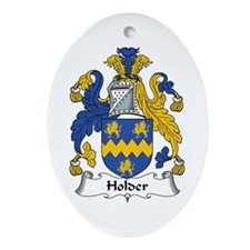Holder Oval Ornament