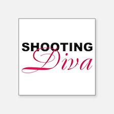 5x3rect_sticker shooting diva Sticker