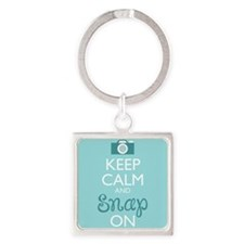 Keep Calm And Snap On Keychains
