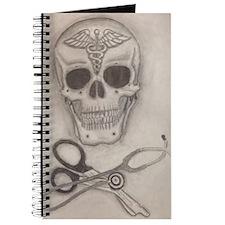 Medic Skull and Crossbones Journal