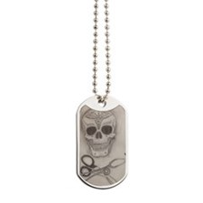 Medic Skull and Crossbones Dog Tags