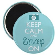 Keep Calm And Snap On Magnets