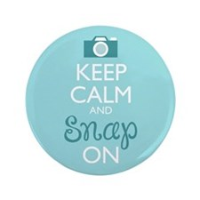 """Keep Calm And Snap On 3.5"""" Button (100 Pack)"""