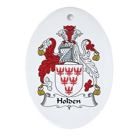 Holden Oval Ornament