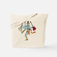 Guitar God Tote Bag