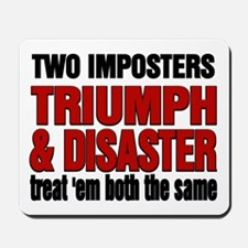 Two Imposters Mousepad