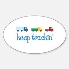 keep truckin Decal