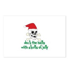 deck the halls Postcards (Package of 8)