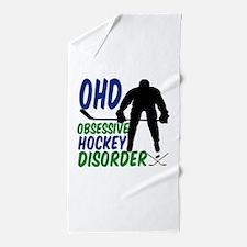 Hockey Humor Beach Towel