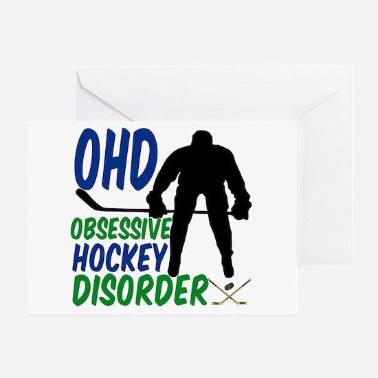 Hockey Humor Greeting Card