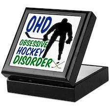 Hockey Humor Keepsake Box