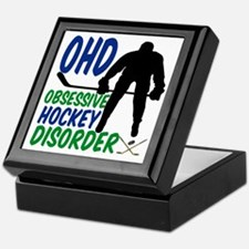 Hockey Humor Keepsake Box