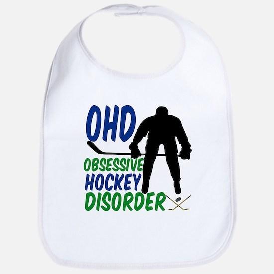 Hockey Humor Bib