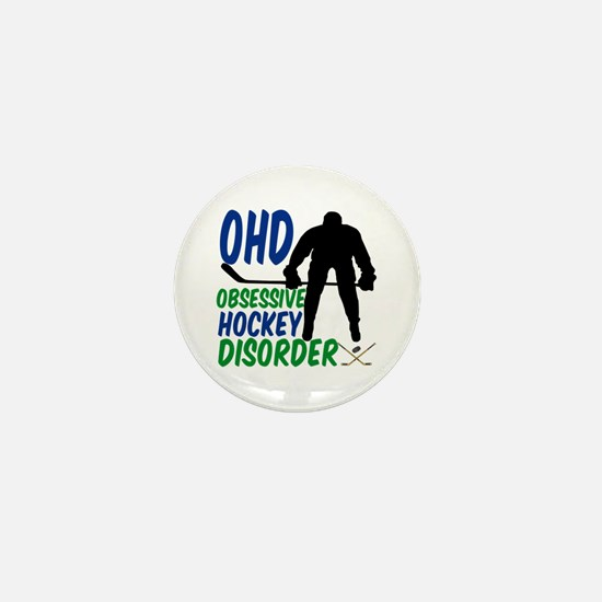 Hockey Humor Mini Button