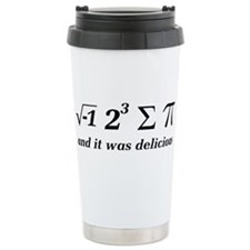Cool Geometry Travel Mug