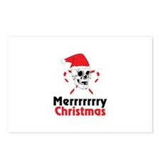 Merrrrrrry Christmas Postcards (Package of 8)