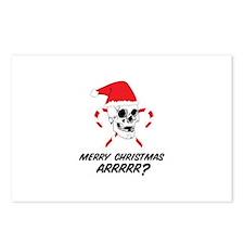 MERRY CHRISTMAS ARRRRR? Postcards (Package of 8)