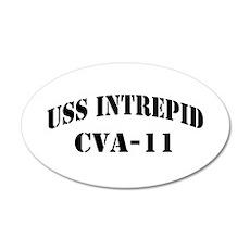 USS INTREPID Wall Decal