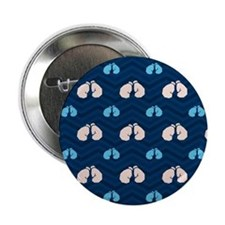 """Blue and Tan Chevron Boxing 2.25"""" Button (10 pack)"""