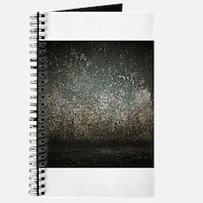 Grunge Rugged Scratched Metal Texture Journal