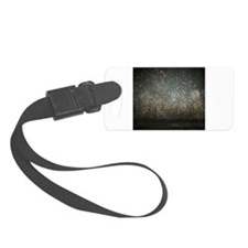 Grunge Rugged Scratched Metal Texture Luggage Tag