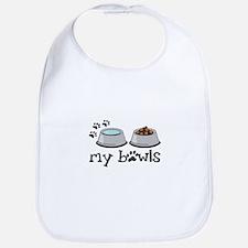 my bowls Bib