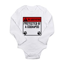Protected By A Cockapoo Body Suit