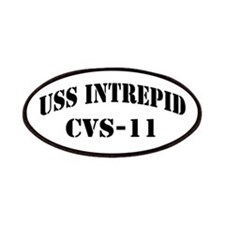 USS INTREPID Patches