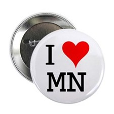 "I Love MN 2.25"" Button (10 pack)"