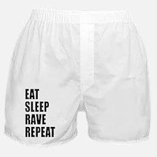 Eat Sleep Rave Repeat Boxer Shorts