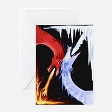 Fire & Ice Greeting Cards