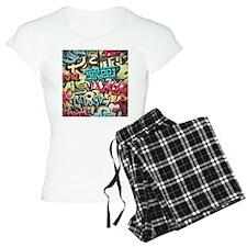 Graffiti Wall Pajamas