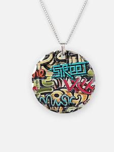 Graffiti Wall Necklace