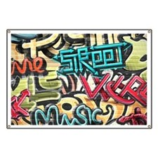 Graffiti Wall Banner