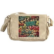 Graffiti Wall Messenger Bag