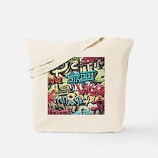 Graffiti Wall Tote Bag
