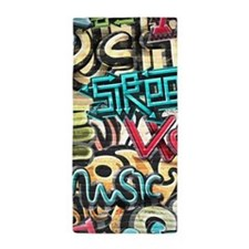 Graffiti Wall Beach Towel