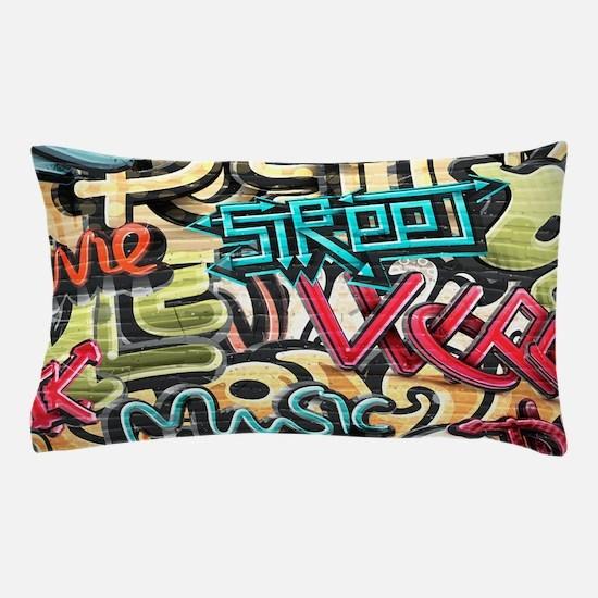 Graffiti Wall Pillow Case