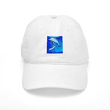 Mom Baby Dolphin Baseball Cap
