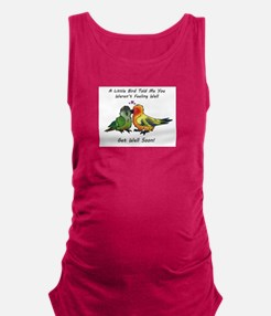 Get Well Soon Maternity Tank Top