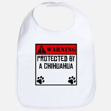 Protected By A Chihuahua Bib