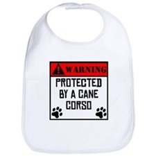 Protected By A Cane Corso Bib