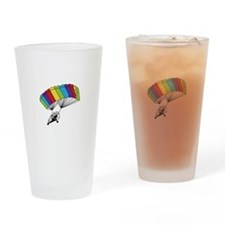 Powered Parachute Drinking Glass