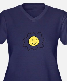 Sunnyside Up Egg Plus Size T-Shirt